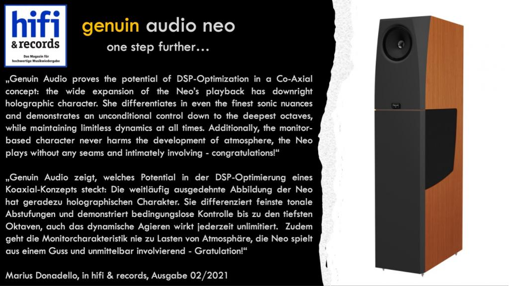 genuin audio neo