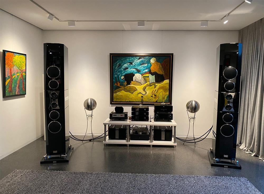 Subbase écho LS | Die Lautsprecheraufstellung