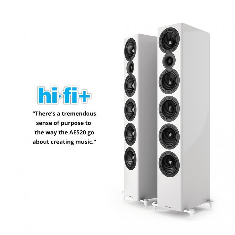 Hi-fi+ Test Acoustic Energy AE 520: