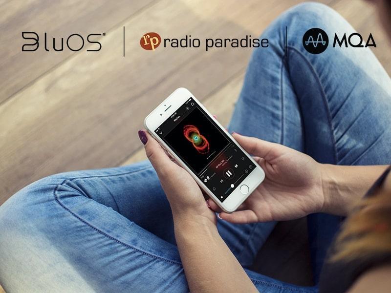 BluOS jetzt mit kostenlosem MQA-Streaming von Radio Paradise