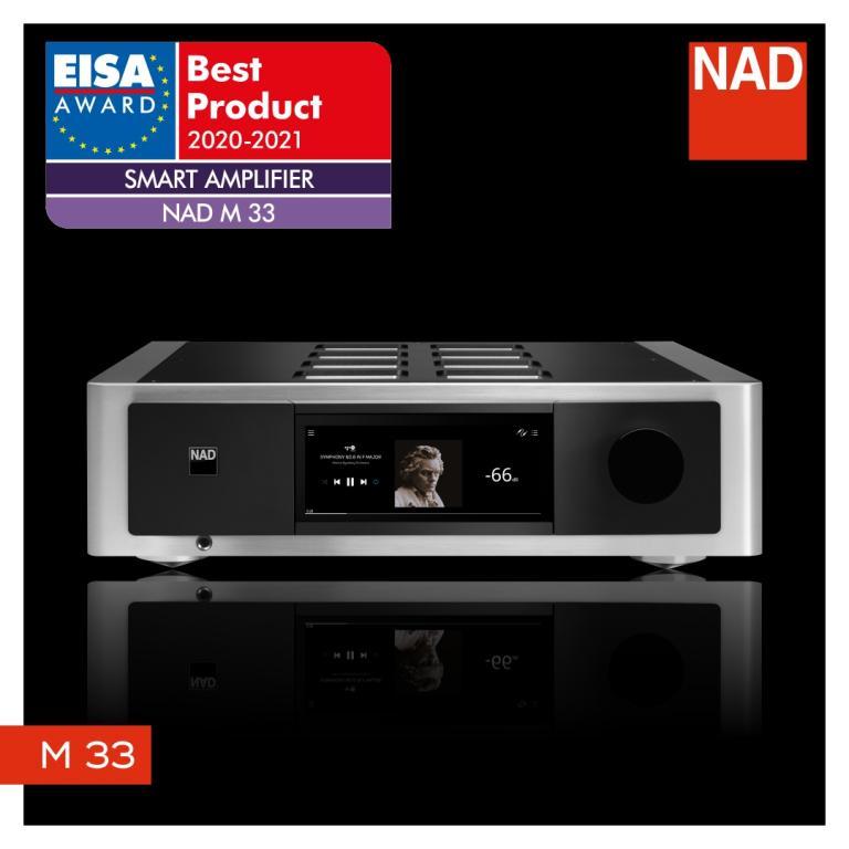 NAD M33 - Streaming Vollverstärker der Extraklasse