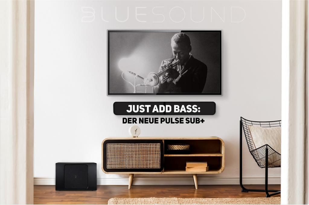 WLAN Subwoofer PULSE SUB+ von Bluesound im Test bei modernhifi.de