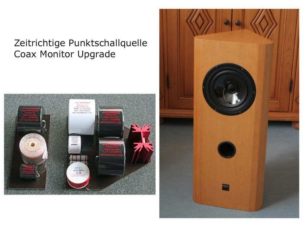 Lautsprecher-Upgrade für Coax Monitor B4