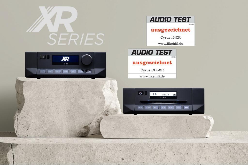 Die neuen CYRUS XR Modelle im Test