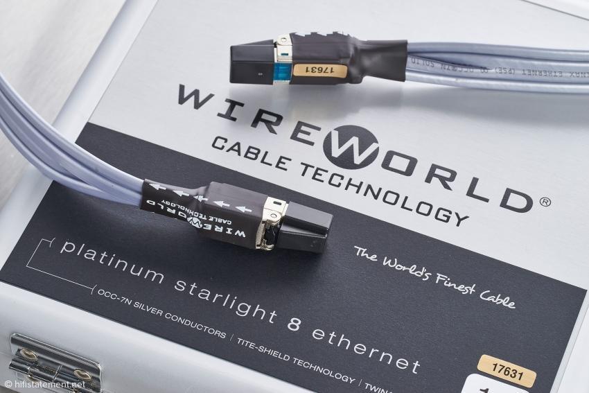 WireWorld - Platinum Starlight Ethernet - Ein CAT 8 Referenzkabel !