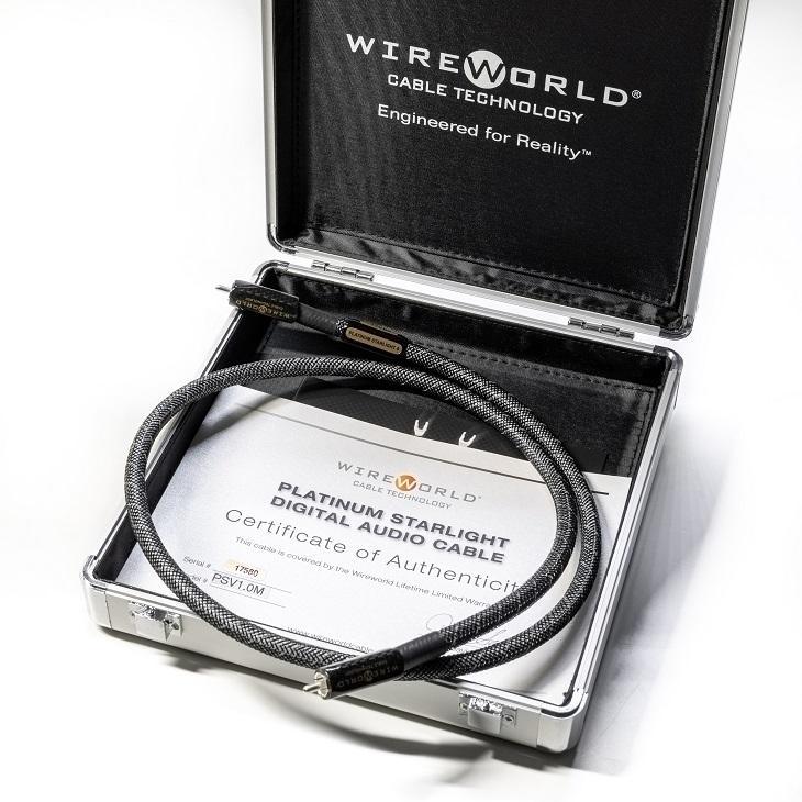 WireWorld Platinum Starlight 8 75Ohm Digitalkabel. Eine Referenz für klassische Digitalverbindungen!