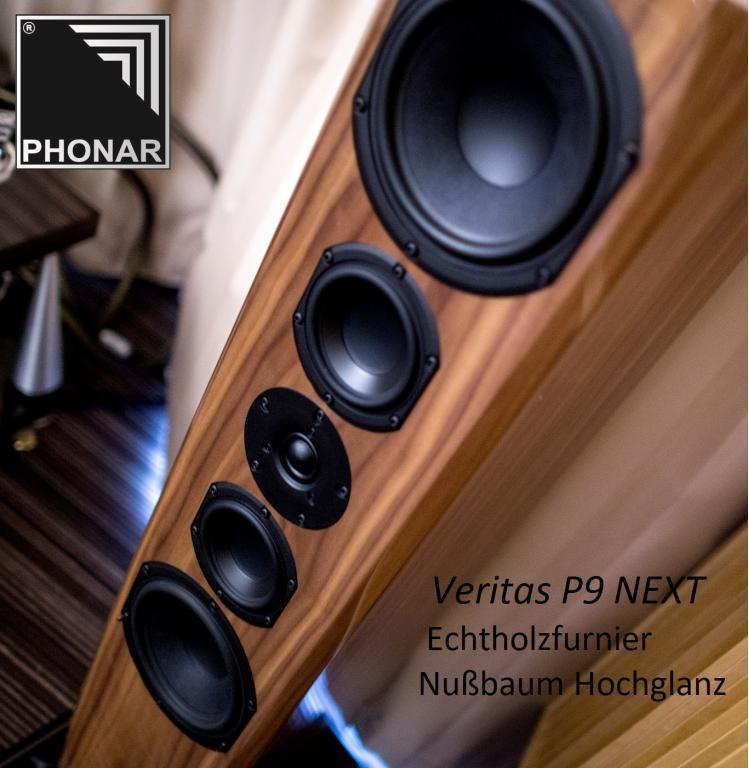 Phonar Veritas - Hochwertige Finishes treffen herausragenden Klang - 45 Jahre made in Germany!