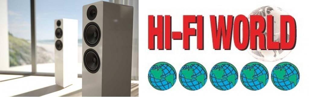 5 Globes für ACOUSTIC ENERGY AE 309 im Test der Hifi-World