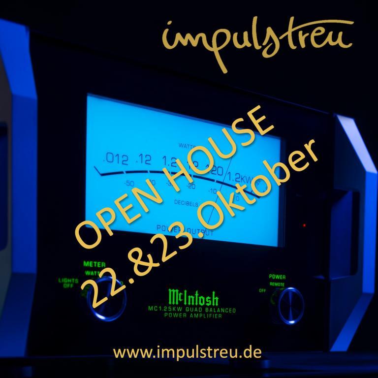 McIntosh Home Solution // OPEN HOUSE 22.&23.Oktober
