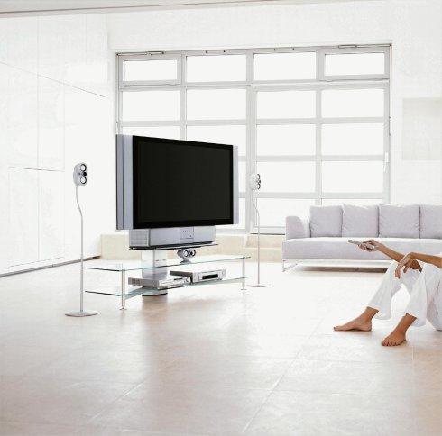LCD-Rueckprojektionsfernseher von Sony