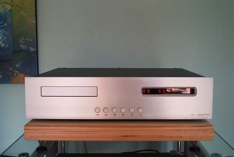 Berendsen  CD-Spieler CDP 1 in  Silber oder Schwarz