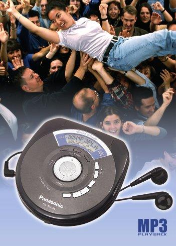 Erstklassiger MP3-Sound von Panasonic