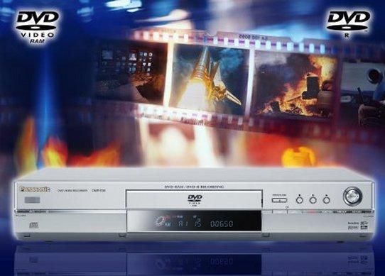 Panasonic DVD-Videorecorder mit Festplatte