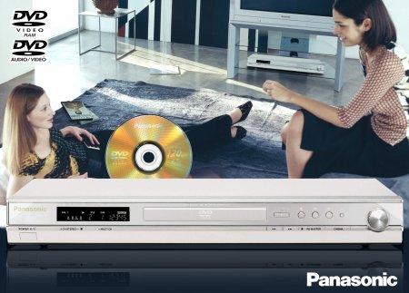 Ultraflacher DVD-Audio/Video-Player von Panasonic
