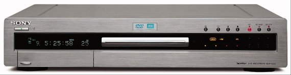Neuer DVD Recorder von Sony RDR-GX3