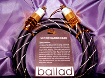 Ballad Audio HiEnd Audio Juwelen für anspruchsvolle Männer/Frauen