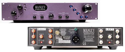 Manley Labs - STEELHEAD - geniale Vorverstärker/Phonostufen-Kombi