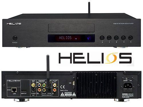 audiophiler DVD-Player mit Netzwerkfunktion: Helios X5000