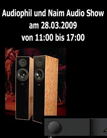 Samstag 28.03. Audiophil und Naim Show bei LOFTSOUND